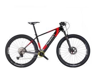 101X HYBRID P5 BLACK / RED, GLOSSY