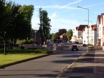 Mürwiker Straße im Juli 2013