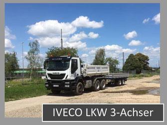 Bild vom IVECO LKW 3-Achser