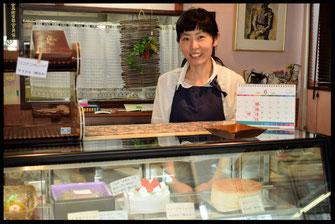 洋菓子の『ピエスモンテ・ヒロ』の店内写真