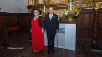goldhochzeit brautpaar kirche