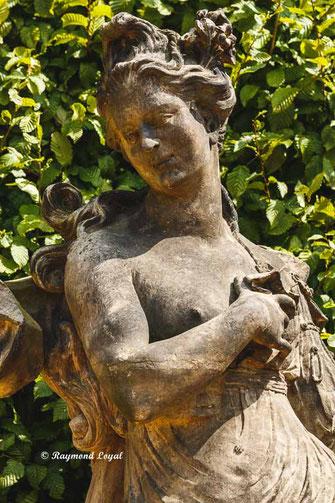 skulptur die vier jahreszeiten schlossgarten gross sedlitz