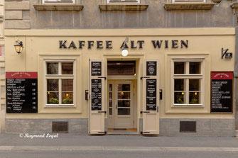 wien altstadt stadtansichten kaffeehaus