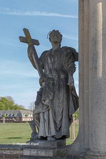 schloss nordkirchen skulptur tugend