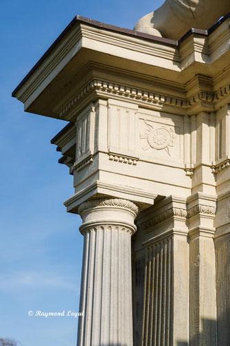 nordkirchen palace lions gate entablature