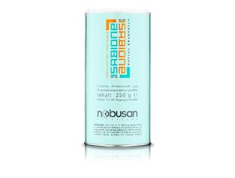 Isabione Plus - 250 g - 18 Obstsorten aus aller Welt decken den Bedarf an Vitamin C, E, B1, B2, B6, B12, Folsäure und Biotin