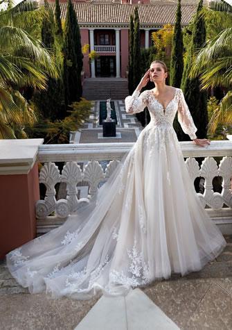 Brautkleid, Hochzeitskleid im Prinzessinnen-Look