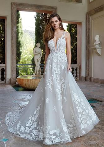 Brautkleid, Hochzeitskleid in A-Linie