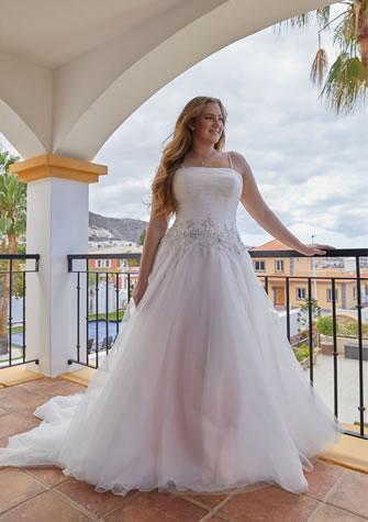 Brautkleid, Hochzeitskleid für grosse Grössen