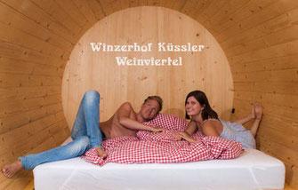 Winzerhof Küssler, Winery Küssler, Austria, 9000 l wine barrel