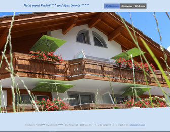 Webdesign Ferienhaus-Apartment Golf durch dcg-consult