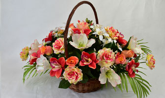 panier-floral-artificiel-avignon-orange-cavaillon-carpentras