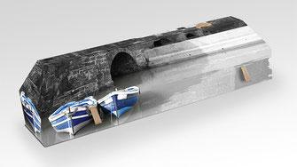 cercueil-en-carton-ab-cremation-brigitte-sabatier-barques-bleues-sur-fleuve