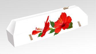 cercueil-en-carton-ab-cremation-brigitte-sabatier-hibiscus-rouge