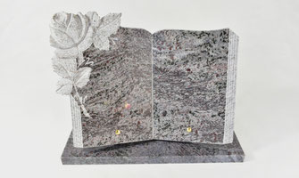 plaque-funeraire-livre-ouvert-rose-debordante-energie