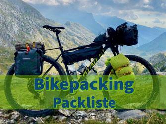 Bikepacking Packliste MTB