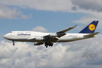 D-ABVF Lufthansa Boeing 747