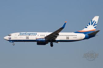 D-ASXD SunExpress Boeing 737