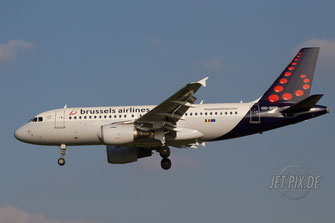 OO-SSB Brussels Airlines A319