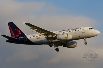 OO-SSA Brussels Airlines A319