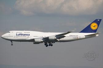 D-ABVN Lufthansa Boeing 747