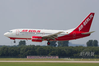 D-AGEU Air Berlin Boeing 737