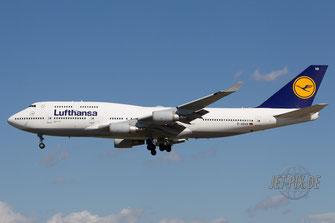 D-ABVR Lufthansa Boeing 747