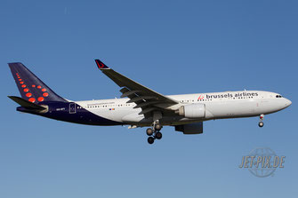 OO-SFY Brussels Airlines A330
