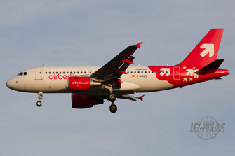D-ABGS Air Berlin Airbus A319