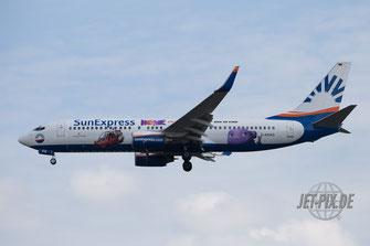 D-ASXG SunExpress Boeing 737