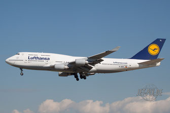 D-ABTL Lufthansa Boeing 747