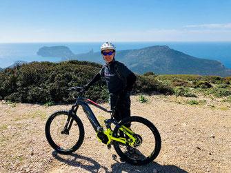 Escursioni in bici in Sardegna