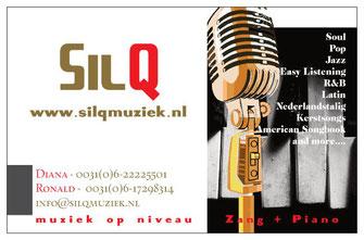 Visitekaartje SilQ Live Muziek