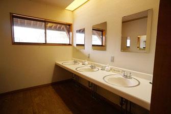 本館2階洗面所【かのせ温泉 赤崎荘】