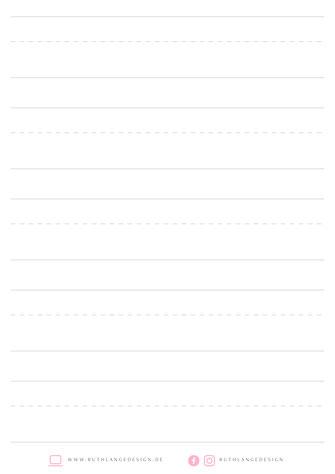Kostenlose übungsblätter Rlange Designs Webseite