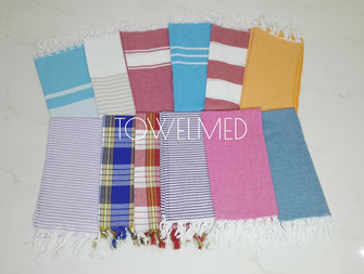 Lightweight fouta towels