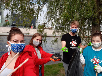 Trashbusters Aktion in Berlin