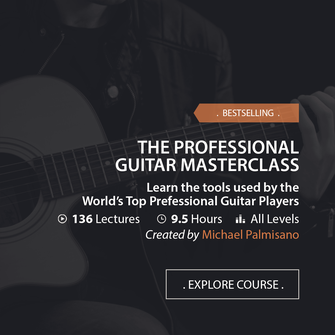 Online Music Courses - The Professional Guitar Masterclass. Learn the tools used by the World's Top Professional Guitar Players. Art God & Love Inc. Copyrights ©2017