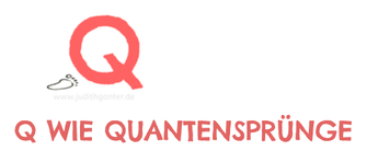 Q wie Quantensprünge - DAS KLEINE ABC DER SELBSTREFLEXION MEHR ALS 70 FRAGEN FÜR DEIN NOTIZBUCH, BULLET JOURNAL ODER TAGEBUCH von judith ganter illustriertes kopfkino für alltagsoptimisten