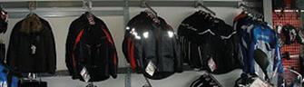 Motorrad Jacken und Kleidung