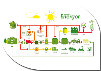 Energetische Verwertung organischer Abfälle