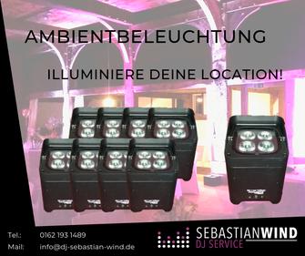 Akku-LED-Spots mieten in Lemgo