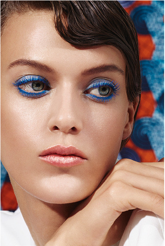 Make-up Collection Spring Summer Modern Blue 2