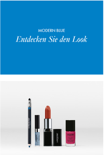 Make-up Collection Spring Summer Modern Blue Look