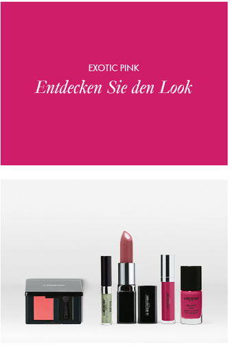 Make-up Collection Spring Summer Exotic Pink Look