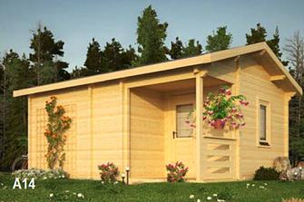 Abri de jardin sauna 25m²