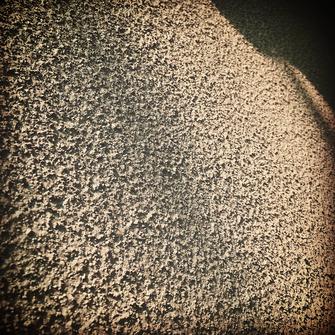 ソフトリシン スプレー 塗膜 水性塗料 陰影