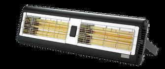 TANSUN SORRENTO 2x1,5 kW Infrarot Terrassenheizung