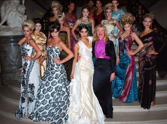 Nanna Kuckuck fashionshow Bode-Museum, Preis Goldene Nase, Couture Berlin