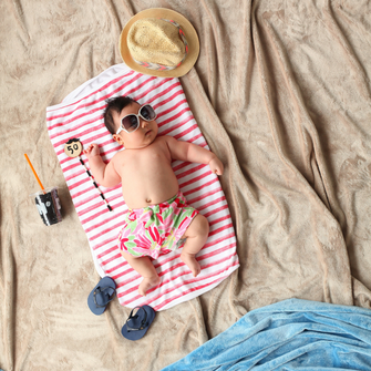 Baby, Sonne, Haut, Strand, Kind, Schutz, Silke Orth, Online-Themenabende